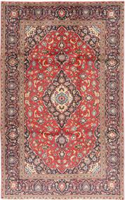 Kashan Covor 188X301 Orientale Lucrat Manual Roșu-Închis/Ruginiu (Lână, Persia/Iran)