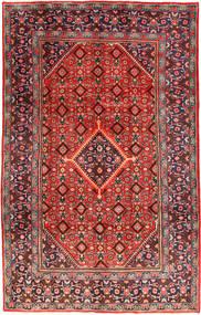 Mahal Covor 206X324 Orientale Lucrat Manual Roșu-Închis/Maro Închis (Lână, Persia/Iran)