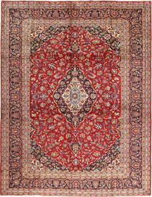 Kashan Covor 295X397 Orientale Lucrat Manual Roșu-Închis/Ruginiu Mare (Lână, Persia/Iran)