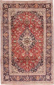 Kashan Covor 195X305 Orientale Lucrat Manual Maro/Bej (Lână, Persia/Iran)