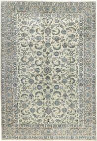 Kashan Covor 270X398 Orientale Lucrat Manual Gri Deschis/Bej Mare (Lână, Persia/Iran)