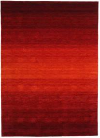 Gabbeh Rainbow - Roşu Covor 210X290 Modern Roșu-Închis/Ruginiu (Lână, India)