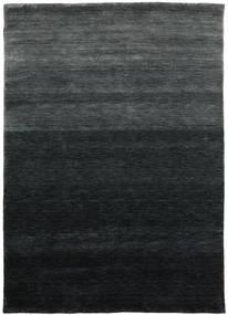 Gabbeh Up To Down Covor 160X230 Modern Negru/Verde Închis (Lână, India)