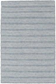 Chilim Long Stitch - Albastru Covor 120X180 Modern Lucrate De Mână Albastru Deschis/Bej-Crem (Lână, India)