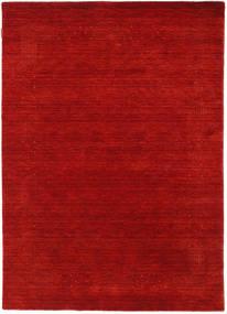 Loribaf Loom Beta - Roşu Covor 140X200 Modern Ruginiu/Roșu-Închis (Lână, India)