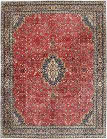 Bidjar Cu Mătase Covor 297X385 Orientale Lucrat Manual Roșu-Închis/Gri Închis Mare (Lână/Mătase, Persia/Iran)