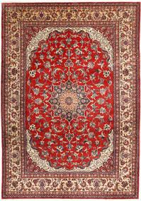 Najafabad Covor 266X390 Orientale Lucrat Manual Roșu-Închis/Ruginiu Mare (Lână, Persia/Iran)