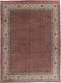 Moud Covor 295X395 Orientale Lucrat Manual Roșu-Închis/Maro Închis Mare (Lână, Persia/Iran)