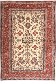 Najafabad Covor 285X405 Orientale Lucrat Manual Roșu-Închis/Bej Mare (Lână, Persia/Iran)