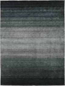 Gabbeh Rainbow - Gri Covor 300X400 Modern Negru/Gri Închis/Verde Mare (Lână, India)