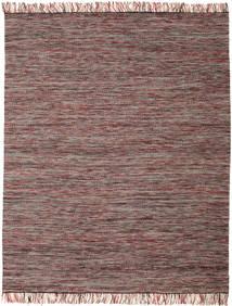 Vilma - Roşu Mix Covor 250X300 Modern Lucrate De Mână Maro Deschis/Roz Mare (Lână, India)