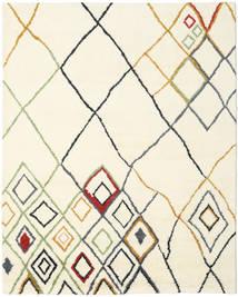 Berber Indo - Off-White/Multi Covor 240X300 Modern Lucrat Manual Bej/Bej-Crem (Lână, India)