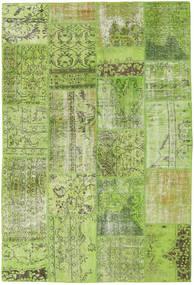 Patchwork Covor 161X238 Modern Lucrat Manual Lumina Verde/Verde Oliv (Lână, Turcia)