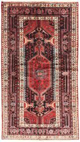 Nahavand Covor 120X220 Orientale Lucrat Manual Roșu-Închis/Maro (Lână, Persia/Iran)