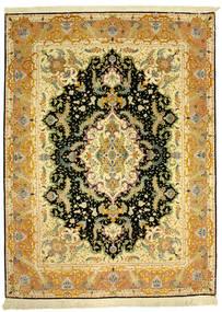 Tabriz 70Raj Silke Varp Covor 152X205 Orientale Lucrat Manual (Lână/Mătase, Persia/Iran)