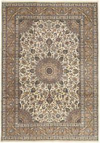 Kashan Patina Covor 242X347 Orientale Lucrat Manual Gri Deschis/Maro Deschis (Lână, Persia/Iran)