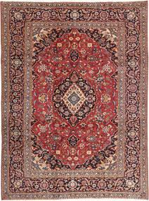 Kashan Patina Covor 242X333 Orientale Lucrat Manual Roșu-Închis/Maro Deschis (Lână, Persia/Iran)