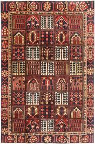 Bakthiari Patina Covor 195X298 Orientale Lucrat Manual Roșu-Închis/Maro Închis (Lână, Persia/Iran)