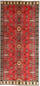 Ghashghai Patina Covor 135X307 Orientale Lucrat Manual Roșu-Închis/Ruginiu (Lână, Persia/Iran)