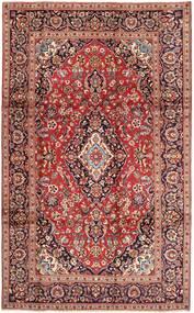 Kashan Covor 195X325 Orientale Lucrat Manual Roșu-Închis/Maro Deschis (Lână, Persia/Iran)