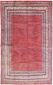 Sarouk Mir Covor 210X330 Orientale Lucrat Manual Roz/Roşu Închis (Lână, Persia/Iran)
