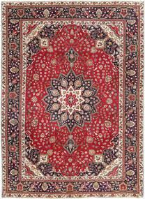 Tabriz Patina Covor 250X344 Orientale Lucrat Manual Roșu-Închis/Maro Închis Mare (Lână, Persia/Iran)