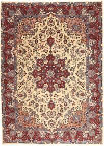 Kashmar Patina Covor 250X340 Orientale Lucrat Manual Roșu-Închis/Bej Mare (Lână, Persia/Iran)