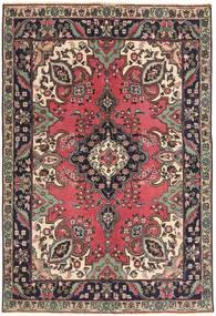 Tabriz Patina Covor 142X204 Orientale Lucrat Manual Maro Închis/Roșu-Închis (Lână, Persia/Iran)