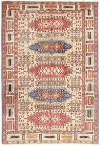Ardabil Patina Covor 138X200 Orientale Lucrat Manual Roșu-Închis/Bej (Lână, Persia/Iran)