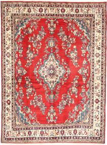 Hamadan#Shahrbaf Covor 213X288 Orientale Lucrat Manual Bej Închis/Ruginiu (Lână, Persia/Iran)
