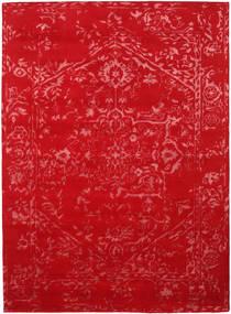Orient Express - Roşu Covor 210X290 Modern Lucrat Manual Roşu/Ruginiu (Lână/Bambus Mătase, India)