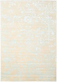 Orient Express - White/Albastru Covor 240X340 Modern Lucrat Manual Bej/Bej-Crem (Lână/Bambus Mătase, India)