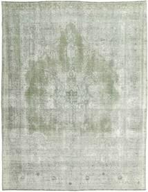 Colored Vintage Covor 283X360 Modern Lucrat Manual Albastru Turcoaz/Gri Deschis/Verde Pastel Mare (Lână, Persia/Iran)