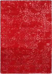 Orient Express - Roşu Covor 160X230 Modern Lucrat Manual Roşu (Lână/Bambus Mătase, India)