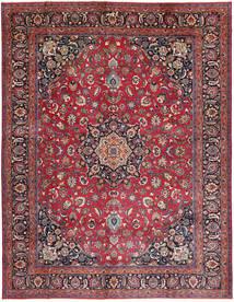 Mashhad Covor 300X387 Orientale Lucrat Manual Roșu-Închis/Albastru Închis Mare (Lână, Persia/Iran)