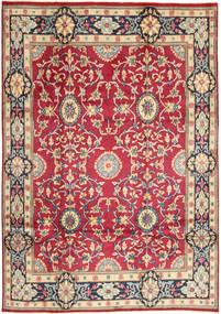 Kerman Covor 208X296 Orientale Lucrat Manual Roşu/Gri Închis (Lână, Persia/Iran)