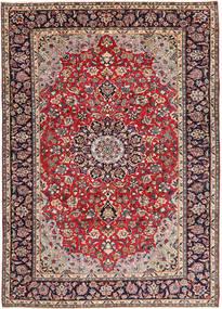 Najafabad Covor 248X338 Orientale Lucrat Manual Roșu-Închis/Mov Închis (Lână, Persia/Iran)