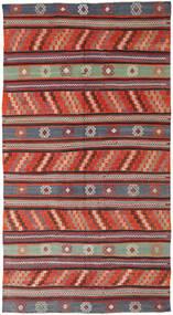 Chilim Turcia Covor 170X314 Orientale Lucrate De Mână Roșu-Închis/Negru (Lână, Turcia)