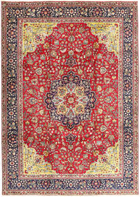 Tabriz Covor 250X345 Orientale Lucrat Manual Ruginiu/Gri Închis Mare (Lână, Persia/Iran)