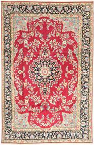 Kerman Covor 198X310 Orientale Lucrat Manual Ruginiu/Bej (Lână, Persia/Iran)