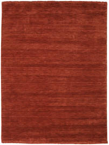 Handloom Fringes - Deep Rust Covor 160X230 Modern Ruginiu/Roșu-Închis (Lână, India)