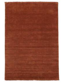 Handloom Fringes - Deep Rust Covor 140X200 Modern Ruginiu/Roşu/Roșu-Închis (Lână, India)
