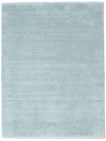 Handloom Fringes - Ice Blue Covor 140X200 Modern Albastru Deschis (Lână, India)