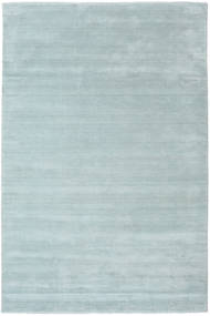 Handloom Fringes - Ice Blue Covor 200X300 Modern Albastru Deschis (Lână, India)