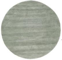 Handloom - Soft Teal Covor Ø 150 Modern Rotund Gri Deschis/Lumina Verde (Lână, India)