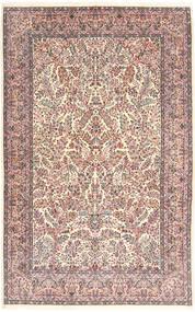 Kerman Lavar Covor 213X315 Orientale Lucrat Manual Bej/Gri Deschis (Lână, Persia/Iran)
