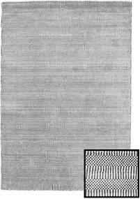 Bamboo Grass - Black_ Gri Covor 120X180 Modern Gri Deschis/Gri Închis (Lână/Bambus Mătase, Turcia)