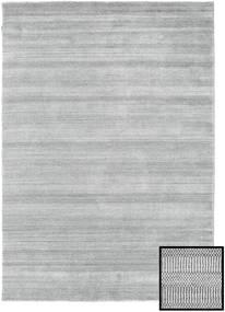 Bamboo Grass - Gri Covor 160X230 Modern Gri Deschis (Lână/Bambus Mătase, Turcia)