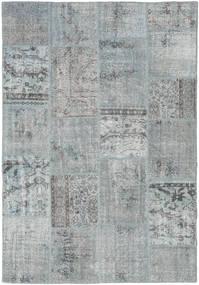 Patchwork Covor 157X231 Modern Lucrat Manual Gri Deschis (Lână, Turcia)