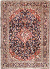 Keshas Semnat: Aryai Covor 274X368 Orientale Lucrat Manual Roșu-Închis/Negru Mare (Lână, Persia/Iran)
